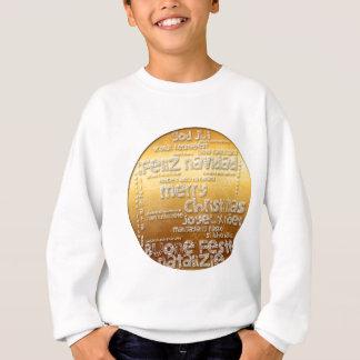 Internationales Weihnachten Navidad scherzt Sweatshirt