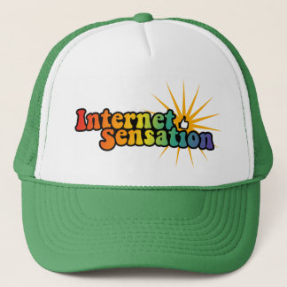 Internet-Empfindungshut Truckerkappe