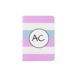 Intersex Stolz-Flagge Passhülle