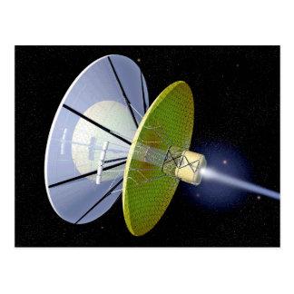Interstellarer Raum-Handwerks-Postkarte Postkarte