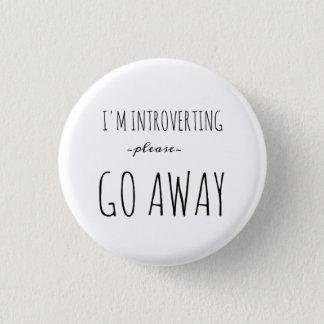 Introvert Miniknopf Runder Button 3,2 Cm