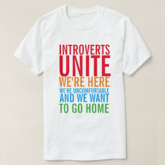 INTROVERTS VEREINIGEN T - Shirt