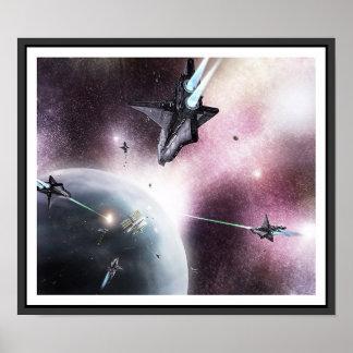Invasion de l espace posters
