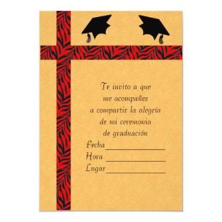 Invitacion Graduacion 1 12,7 X 17,8 Cm Einladungskarte