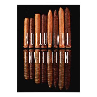 Invitation cubaine de Habana de cigares