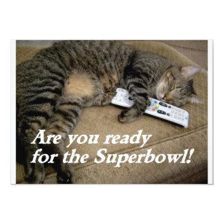 invitation d'amusement de superbowl