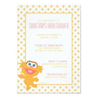 Invitation de baby shower de Zoe