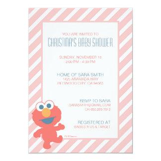 Invitation de baby shower d'Elmo