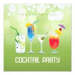 Invitation de cocktail d'été carton d'invitation  13,33 cm