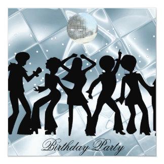 Invitation de glace de fête d'anniversaire de carton d'invitation  13,33 cm