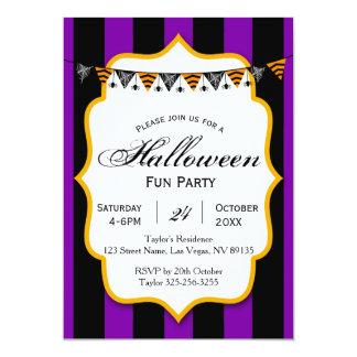Invitation de partie d'amusement de Halloween