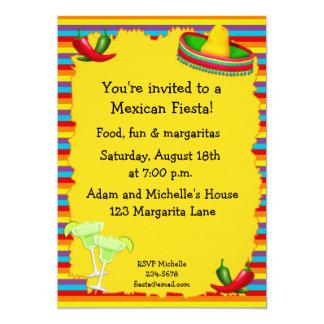 Invitation de partie de fiesta