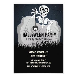 Invitation de partie de Halloween