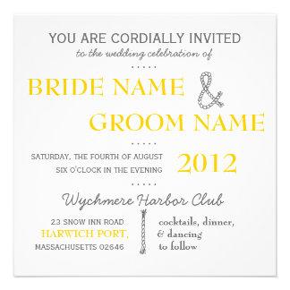 Invitation moderne de mariage de suite d invitatio