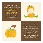 Invitations de baby shower d'automne