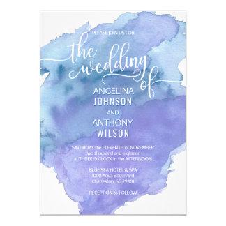 Invitations turquoises bleues de mariage de plage