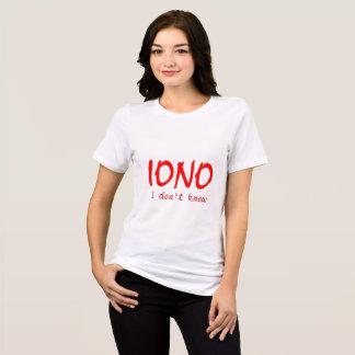 IONO I wissen nicht T-Shirt