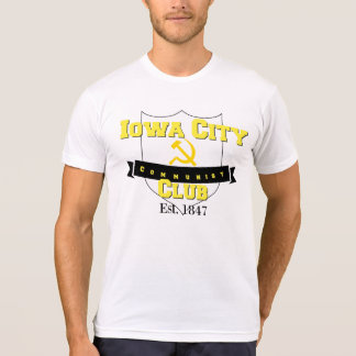 Iowa City kommunistischer Hammer Verein-| u. T-Shirt