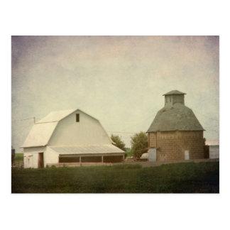 Iowa-Landwirtschaft Postkarte