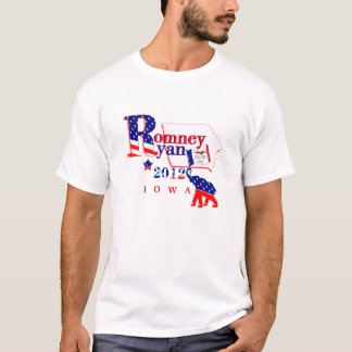 Iowa Romney und Ryant-shirt 2012 2 T-Shirt
