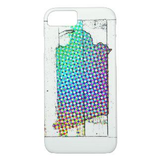 Iowa-Staat Mehrfarben iPhone 8/7 Hülle