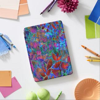 "iPad 12,9"" iPad Proabdeckungs-BlumenBuntglas iPad Pro Hülle"
