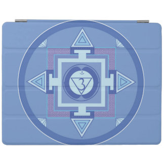 iPad Air Cover Smart Mandala Blue iPad Hülle