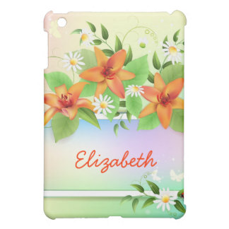 iPad floral de lis d'été mini Étui iPad Mini