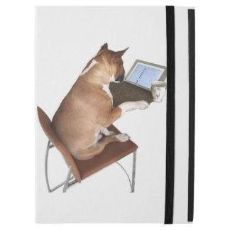 iPad Profall ft. Smeagol der Bullterrier u. das