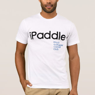 iPaddle: Imua Ausleger-Kanu-Verein T-Shirt