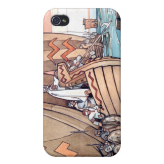 iPhone 4: Estnische Wikinger am Hafen iPhone 4 Cover