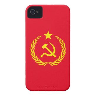 iPhone 4 Fall-kalter Kriegs-Kommunist-Flagge iPhone 4 Hülle