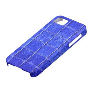 iPhone 5 Blaue Fliesen Hintergrund iPhone 5 Case