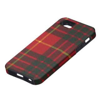 iPhone 5 Cameron-Clanmoderner Tartan-Druck iPhone 5 Etuis