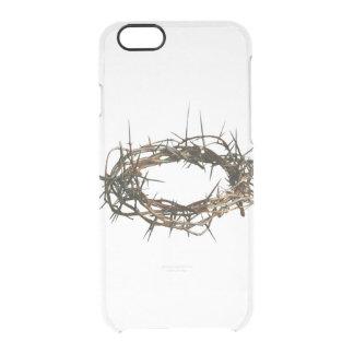 IPhone 5 christliches Fall Dornenkrone Durchsichtige iPhone 6/6S Hülle
