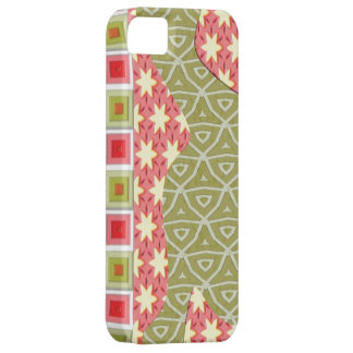 iPhone 5 de Coque-Compagnon de carrés de triangles Coque iPhone 5