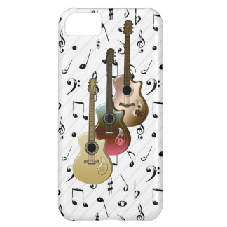 iPhone 5 de Coque-Compagnon de guitares du lecteur Coque iPhone 5C