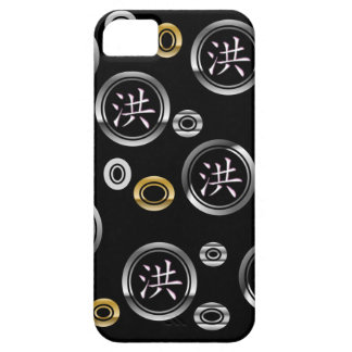 Iphone 5 Fall - chinesischer Familienname Hong iPhone 5 Etui