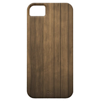 iphone 5 Fall - dunkles Holz iPhone 5 Hülle