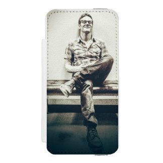 iphone 5 Vampirstagebuchgeldbörsen-Handyfall Incipio Watson™ iPhone 5 Geldbörsen Hülle