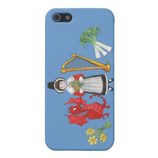 iPhone 5c kapieren Fall, Waliser-Embleme iPhone 5 Case