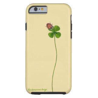 iPhone 6/6s Fall mit vierblättriges Kleeblatt und Tough iPhone 6 Hülle