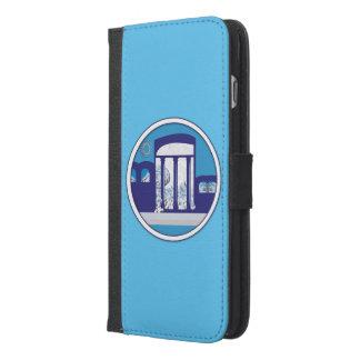 iPhone 6/6s plus Geldbörsen-Kasten MITTELMEERtraum iPhone 6/6s Plus Geldbeutel Hülle