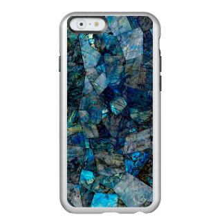 iPhone 6/6s silberner Labradorit-abstrakter Kasten Incipio Feather® Shine iPhone 6 Hülle