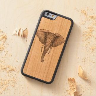iPhone 6/6s Stoßkirschhölzerner Kasten-Elefant Bumper iPhone 6 Hülle Kirsche