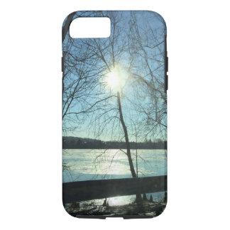 IPhone 6/6s Wintersonnenaufgang-Telefonkasten iPhone 8/7 Hülle