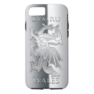 iPhone 6 d'effet d'argent de dragon de Gallois, Coque iPhone 7