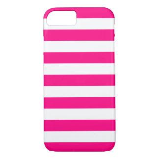 iPhone 6 Fall - Pink-mutige Streifen iPhone 8/7 Hülle