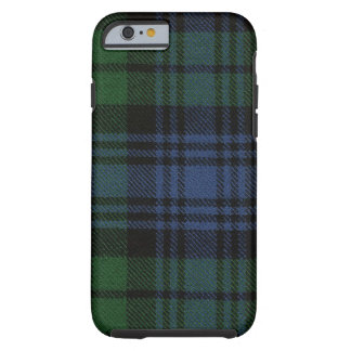 iPhone 6 Fall schwarze Uhralter Tartan-Kasten Tough iPhone 6 Hülle