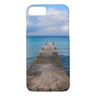 iPhone 7 Fall - Pier mit einem Meerblick iPhone 8/7 Hülle